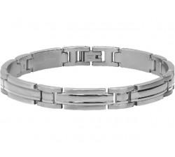 Bracelet acier TRINIDAD 8,5mm ROCHET B042360