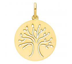 Pendentif arbre de vie or jaune 375/1000 by Stauffer