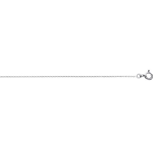 Chaîne forçat or gris 375/1000 by Stauffer