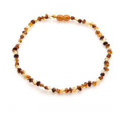Collier enfant en ambre by Stauffer AKWK1M