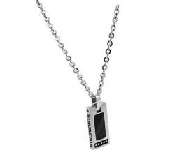 Collier acier bicolore noir ROCHET HP1522100