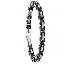 Bracelet Stanley acier bicolore JOURDAN MG 016 H