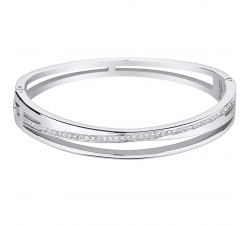 Bracelet rigide acier LOTUS STYLE LS2113-2/1