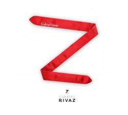 bracelet montre rouge de coeur en soie Gabriel Rivaz S18