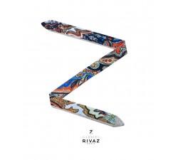 bracelet montre road to Jakarta en soie Gabriel Rivaz S27
