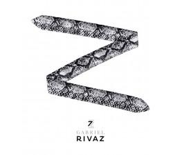 bracelet montre python gris en soie Gabriel Rivaz S9