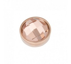 TOP PART FACET CHAMPAGNE IXXXI 2 mm - Or rose