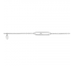 Bracelet argent 925/1000, et oxydes de zirconium by Stauffer
