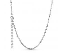 Collier chaîne Rolo en argent 925/1000 PANDORA 399260C00-60