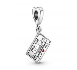 Charm Pendentif Cassette Vintage en Argent 925/1000 PANDORA 799295C01