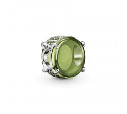 Charm Cabochon Ovale Vert olive en Argent 925/1000 PANDORA 799309C02