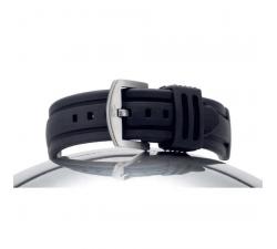 Bracelet de montre Silicone MALIBU noir 20/18mm 8092001