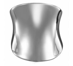 Bague acier, concave by Stauffer