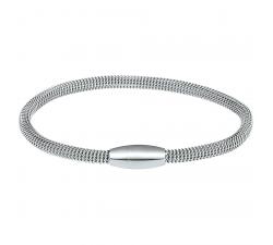 Bracelet acier, fermoir aimanté by Stauffer
