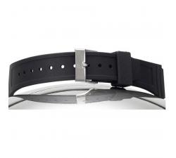 Bracelet de montre P.U PRISMA noir 18/16mm 8995601
