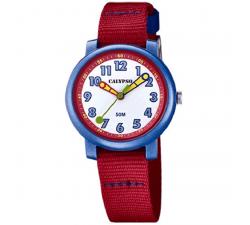 Montre Calypso enfant Rouge et bleue K5811/4