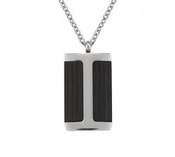 Collier Deneb acier et carbone JOURDAN UN 015 H