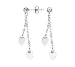 Boucles d'oreilles GO Mademoiselle argent 925/1000 602535