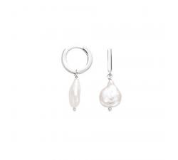 Boucles d'oreilles GO Mademoiselle argent 925/1000 602540