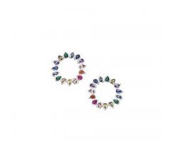Boucles d'oreilles GO Mademoiselle argent 925/1000 602542