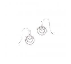 Boucles d'oreilles GO Mademoiselle argent 925/1000 602544
