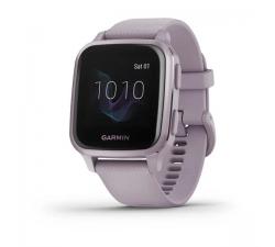 Montre Garmin Venu® Sq, Lavender/Rose Purple avec bracelet silicone Lavender 010-02427-12