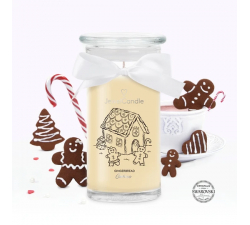 Bougie Gingerbread cookies (Boucles d'oreilles) Jewel Candle 201511FR-B