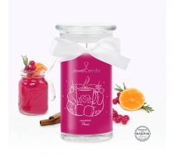 Bougie Cranberry punch (Boucles d'oreilles) Jewel Candle 201513FR-B