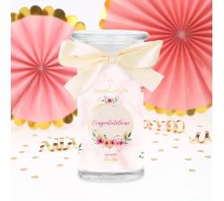 Bougie Congratulations (Boucles d'oreilles) Jewel Candle 202516FR-B