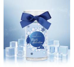 Bougie Frosty antarctica (Boucles d'oreilles) Jewel Candle 202551FR-B