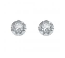Boucles d'oreilles argent 925/1000 et Swarovski elements Indicolite PU-RON-001