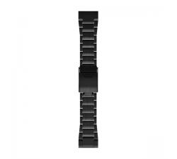 Bracelet Montre Garmin QuickFit™ - 26mm Maillons Gray en titane et carbone amorphe 010-12580-00