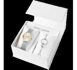 Coffret montre femme Pierre Lannier Multiples Bracelet argenté 350H728