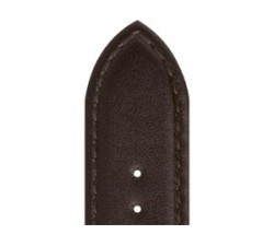 Bracelet de montre Veau NEPTUNE Marron 18/16mm Mat Etanche 7230603