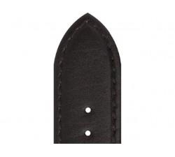 Bracelet de montre Veau NEPTUNE Noir 20/18mm Mat Etanche 7230701