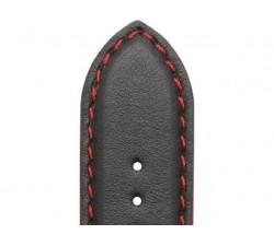 Bracelet de montre Veau NEPTUNE Noir 20/18mm Mat Etanche 7230751