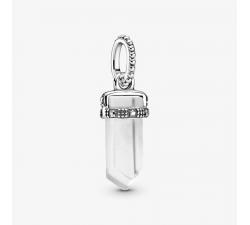 Charm Pendentif amulette blanc en Argent 925/1000 PANDORA 399185C03