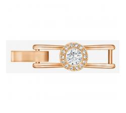 Fermoir Bracelet Angelic, blanc, métal doré rose Swarovski 5257142