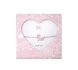 Bracelet GO Mademoiselle enfant licorne acier 609800