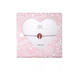 Bracelet GO Mademoiselle enfant coccinelle acier 609803