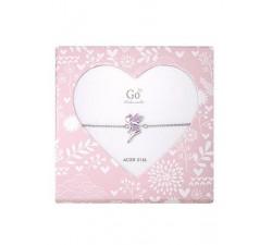 Bracelet GO Mademoiselle enfant fée acier 609806