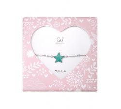 Bracelet GO Mademoiselle enfant étoile acier 609812