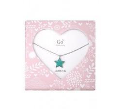 Collier GO Mademoiselle enfant étoile acier 609813