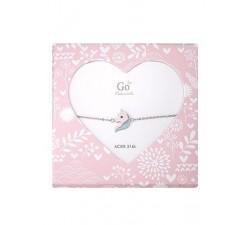 Bracelet GO Mademoiselle enfant licorne acier 609815