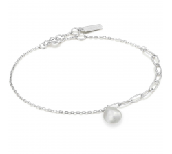 Bracelet femme argent 925/1000 Ania Haie Pearl Of Wisdom B019-02H