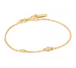 Bracelet femme argent 925/1000 doré Ania Haie Midnight fever B026-04G