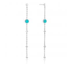 Boucles d'oreilles femme argent 925/1000 Ania Haie Hidden gem E022-02H