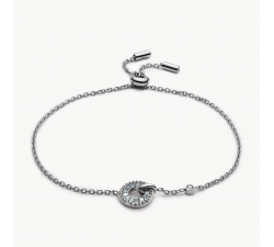 Bracelet femme à chaîne Disc FOSSIL JF03553040