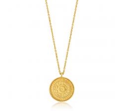 Collier femme argent 925/1000 doré Ania Haie Coins N009-05G