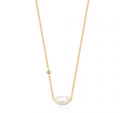 Collier femme argent 925/1000 Ania Haie Pearl Of Wisdom N019-02G